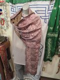 シルク 手刺繍(カンタ) ショール(I-PUS-SST2)