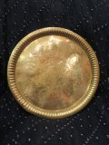 アンティーク 真鍮 トレイ(I-DEL-SAD3)