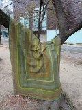 vintage パキスタン ラリーキルト(I-KU-PAKIQT) grn