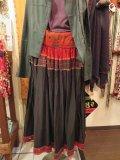 kutch vintage ミラーワーク コットンスカート(I-KU-RSKK)